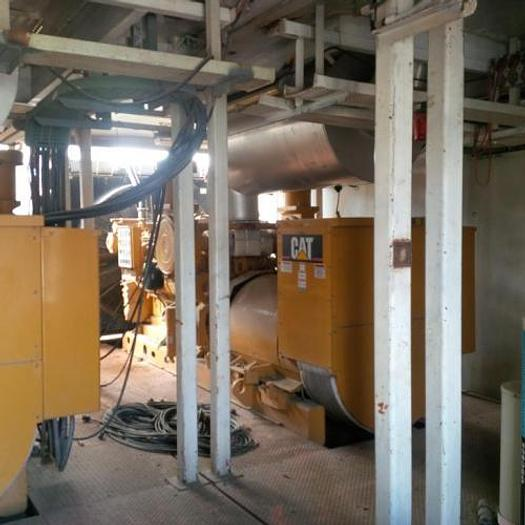 Used 1.07 MW 2007 Used Caterpillar 3512 Diesel Generator