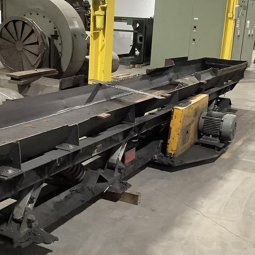 Used CARRIER SYNCRO-COIL VIBRATING CONVEYOR