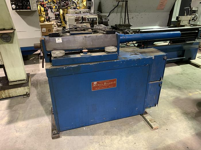 "Used 4 TON 24"" HORIZONTAL MINI BROACH"