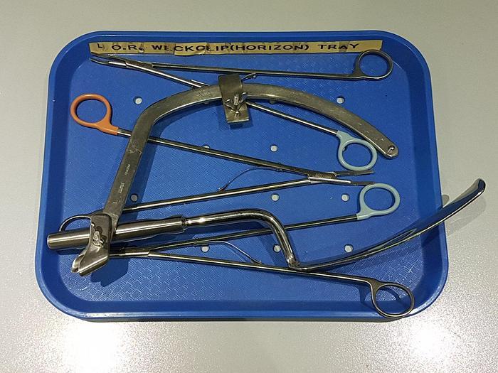 Gebraucht Chirurgie Instrumente Horizon Weckclip Tablett