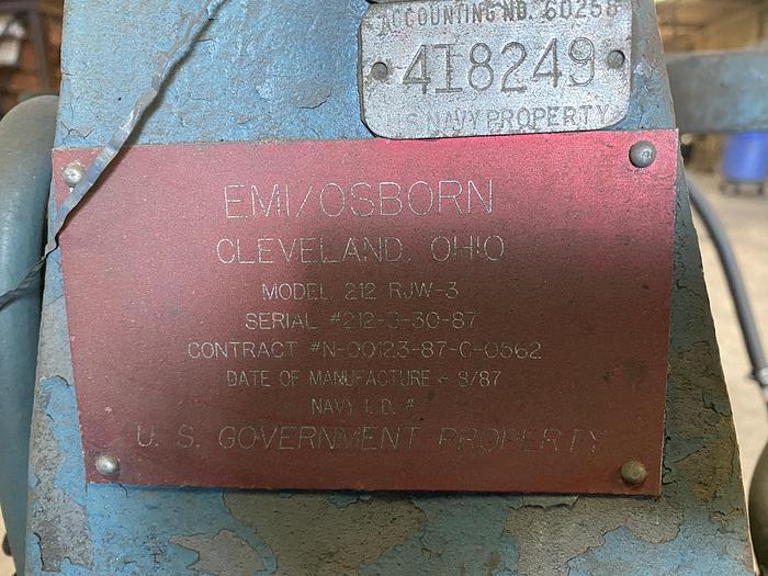 OSBORN 212 RJW-3