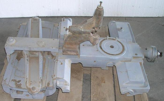 Used Monarch Lathe Saddle and Cross Slide Assembly w/ Taper Attachment