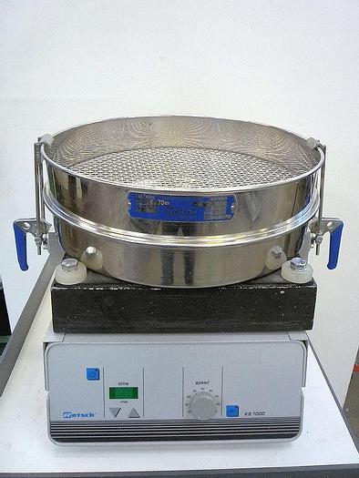 Used D 12909 E - Vibratory Sieve RETSCH KS 1000