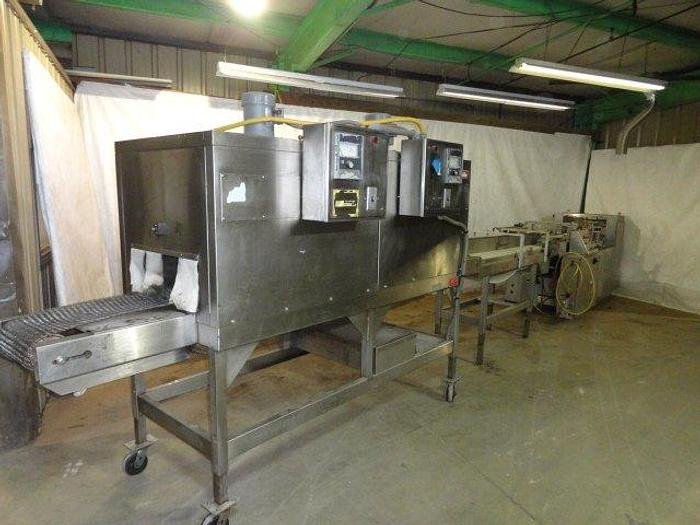 Used Shanklin Hy-Speed Automatic Shrink Wrapper; Md#HS-1SS-H w/Shrink Tunnel; Md#T-72