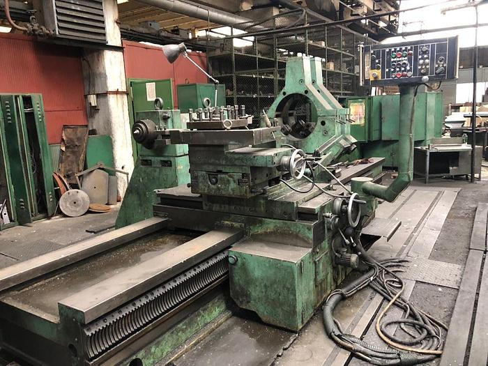 1978 Facing lathe NILES WMW DP2/S2