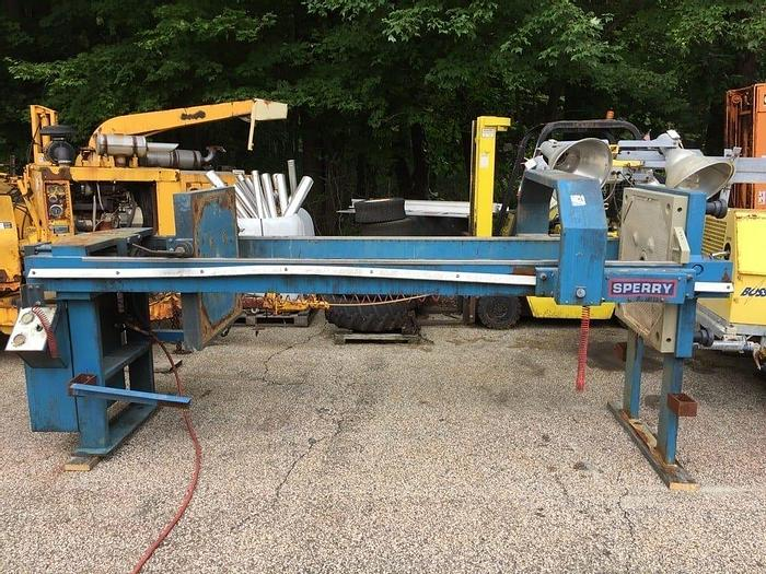 Used 25 CU. FT. SPERRY FILTER PRESS – 800 mm – CGR – PLATE SHIFTER – #8933