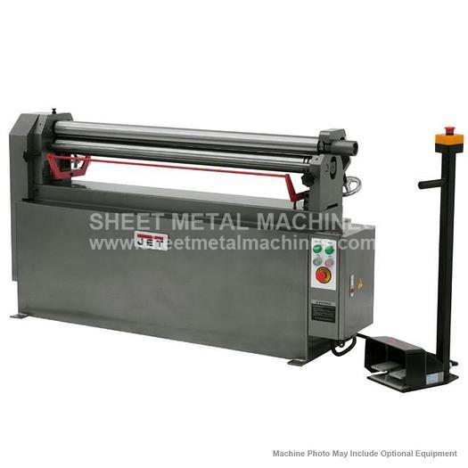 JET ESR-1650-3T Electric Slip Roll 3Ph 756028