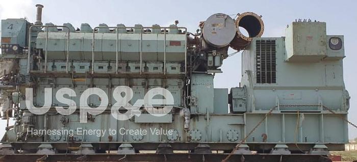 Used 2 MW 2005 Used Yanmar 8N280L-EV HFO/Diesel Generator Sets
