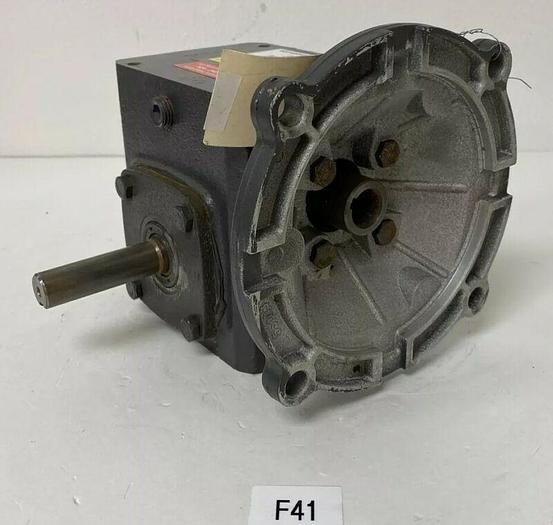 New DAYTON 4Z006D GEARBOX SPEED REDUCER 10:1 RATIO .75HP 1750RPM 182 IN/LBS