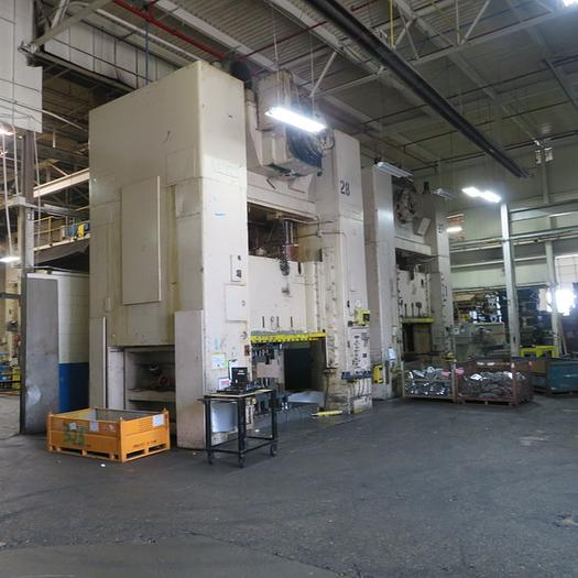 1000 ton Verson SSDC Press