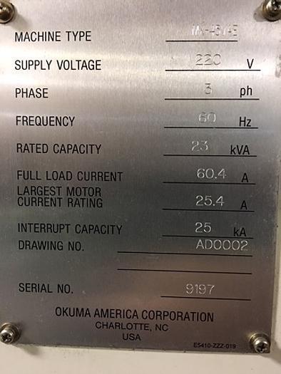 1999 Okuma MX-45 Excellent Condition - Low Hours