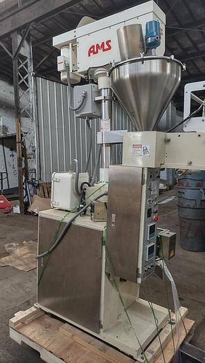 Used Sunshine Machinery  Vertical form fill and Seal with AMS auger filler