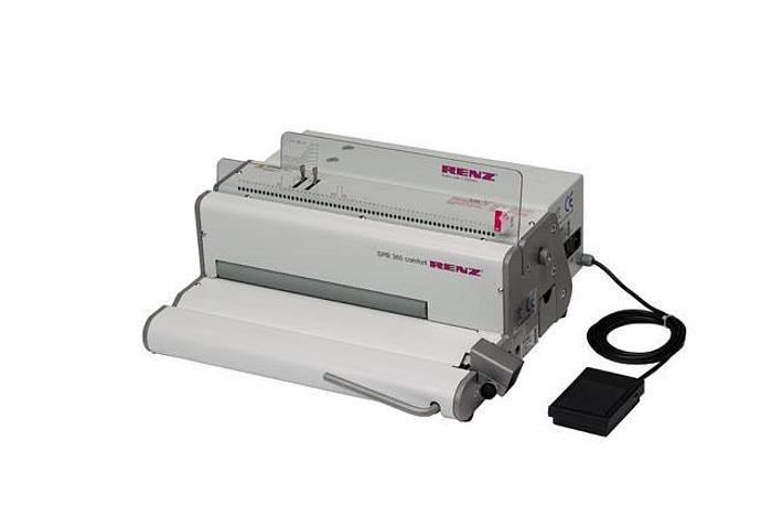 Renz SPB 360 ComfortPlus Electronic Coil Binding Machine