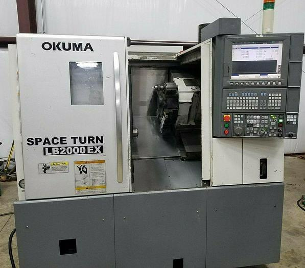 Used 2010 Okuma Space Turn LB2000 EX