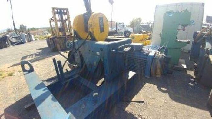 Used DEMAG 30 TON HOIST CRANE POWER TROLLEY WITH HOOK