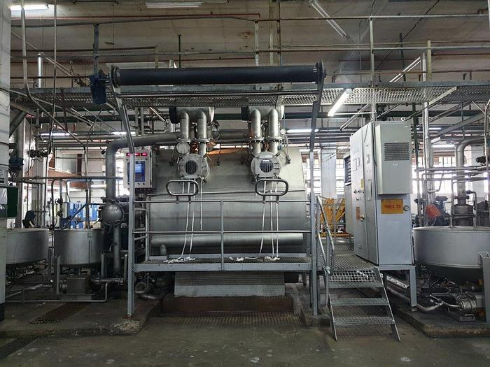 Used THIES jet dyeing 1989 ( FULL UPGRADE ) 600 kgs