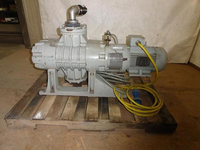 Used Airtech Vacuum Booster Pump, Md #AC 1200, 6 HP