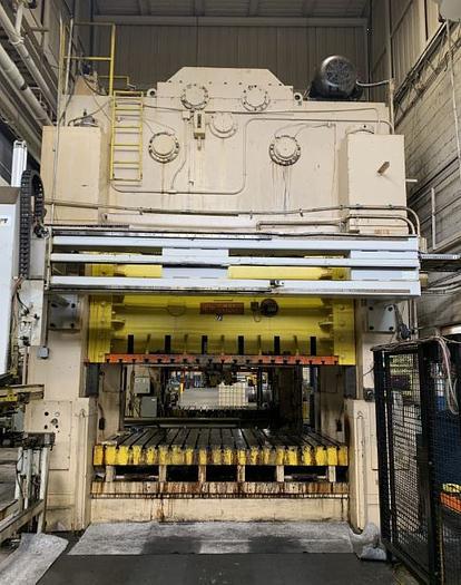 "Used 660 ton Heim 120""x72"" Stamping Press"