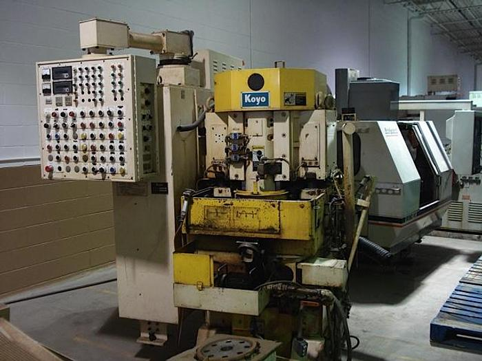 Used KOYO KVD300CR VERTICAL DOUBLE DISC GRINDER