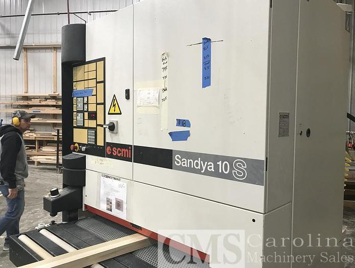 Used 2000 SCMI Sandya 10S Sander