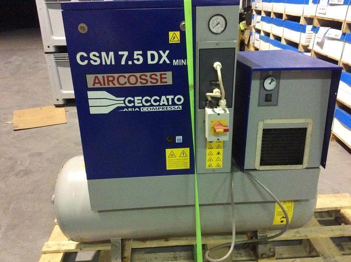2006 Aircosse Ceccato CSM 7.5 DX Mini Air Compressor