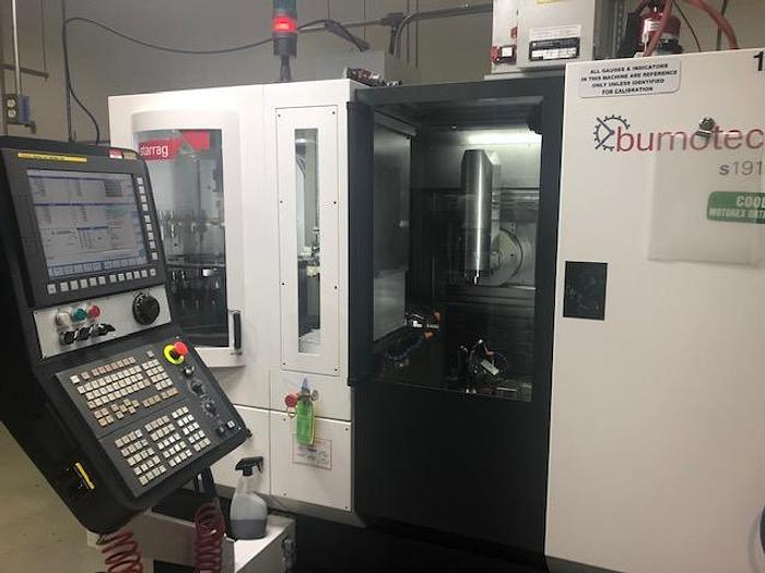 Used 2018 STARRAG BUMOTEC S191 CNC MACHINING CENTER
