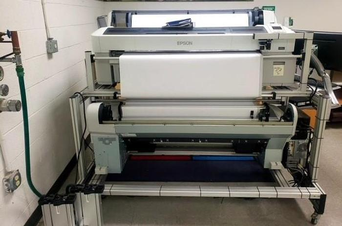 Used Epson Wide Format Sure Color-T7270, 2010