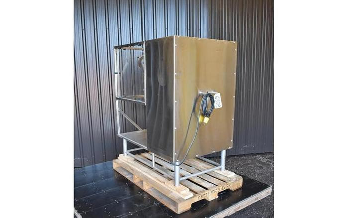 USED TWIN SHELL BLENDER, 0.5 CUBIC FEET