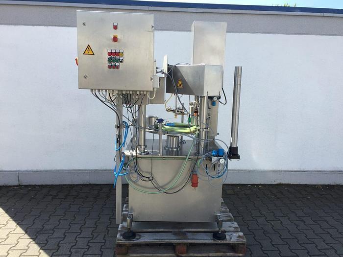 Gebraucht Kaltvakuumgläserverschließmaschine