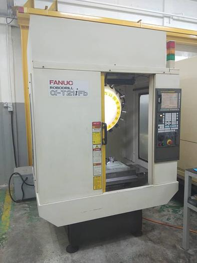 Used 2010 Fanuc a-T21iFb High speed milling machine