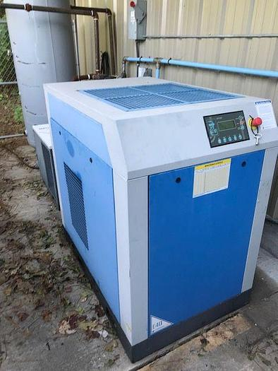Used 4/12/2016 2016 40HP AIR COMPRESSOR