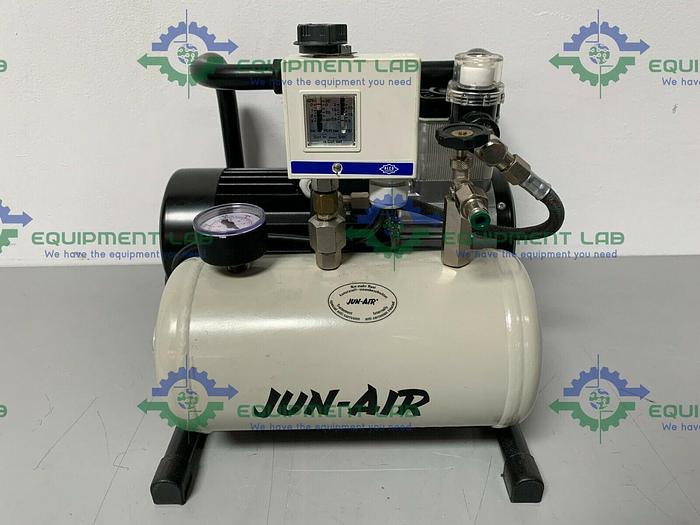 Used Jun-Air V-600 Oil-Less Vacuum Pump 1PH/110-115V