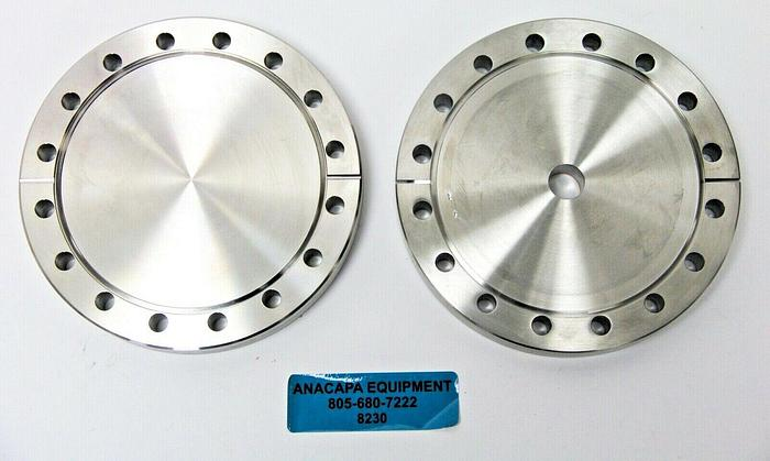 """Used Nor-Cal Products 600-133-075Z Flange, Reducer 6""""OD X 0.75"""" ID Lot of 2 (8230)W"""