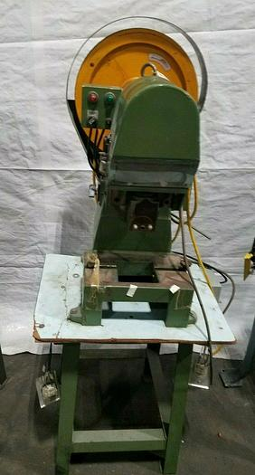 Used 5 Ton Stamping Punch Press Stamp Forge Bend Metal