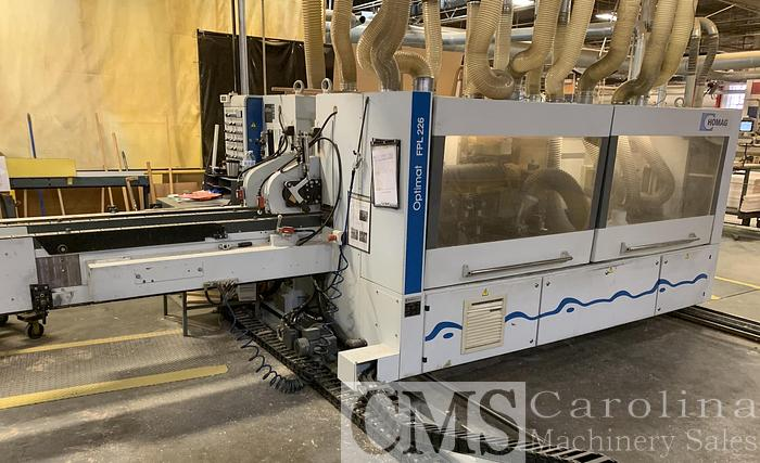 Used 2007 Homag Optimat FPL 226/7 Double End Tenoner