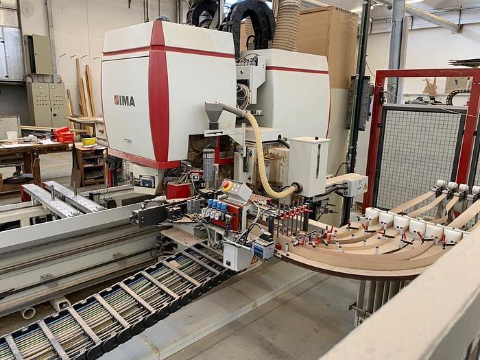 2008 IMA Bima 310 V CNC Centro di lavoro con bordatura
