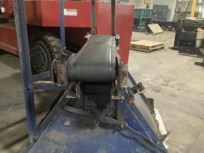 Used HOPPER WITH FEED BELT