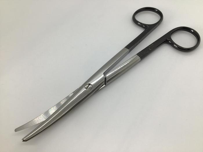 Used Scissor Surgical Dissecting Mayo Supercut Curved 170mm (6-3/4in) STILLE