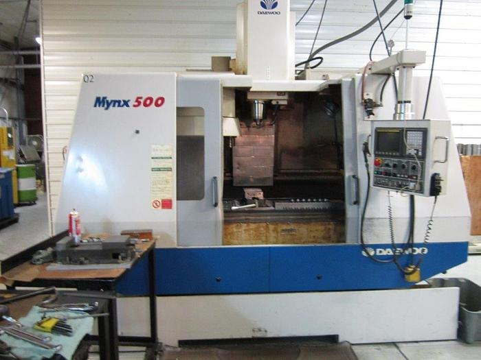 2001 Daewoo   Mynx 500 Vertical Machining Center