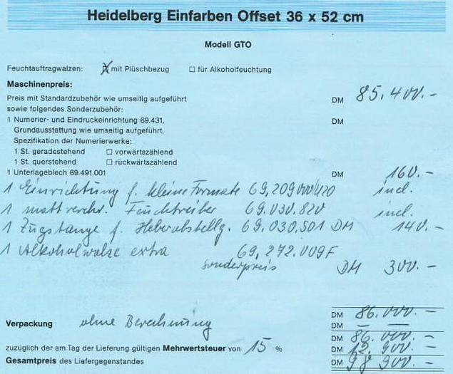 1993 HEIDELBERG GTO-52-1-