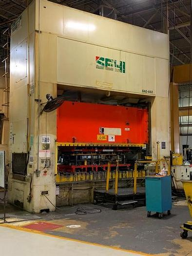 """Used 660 ton SEYI 145""""x61"""""""