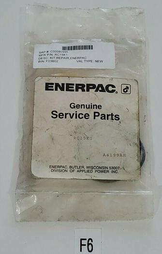 *NEW IN BAG* Enerpac RC15K1 Hydraulic Seal Repair Kit + Warranty!