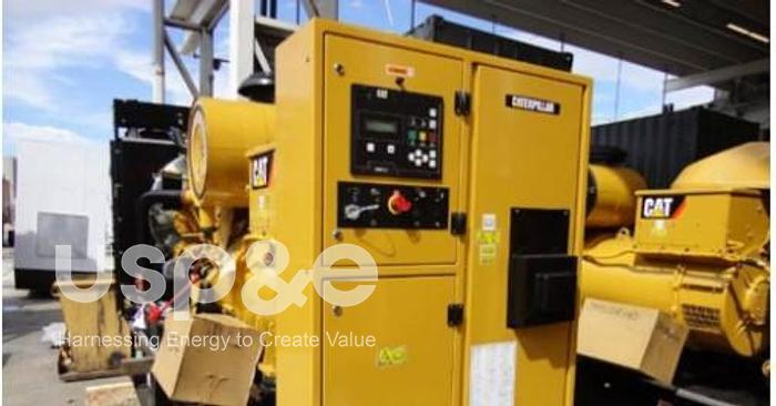 Used .60 MW 2020 USED CATERPILLAR C12 DIESEL GENERATOR SETS