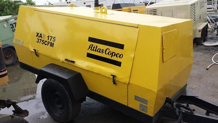 Used 2002 ATLAS COPCO XAS175JD