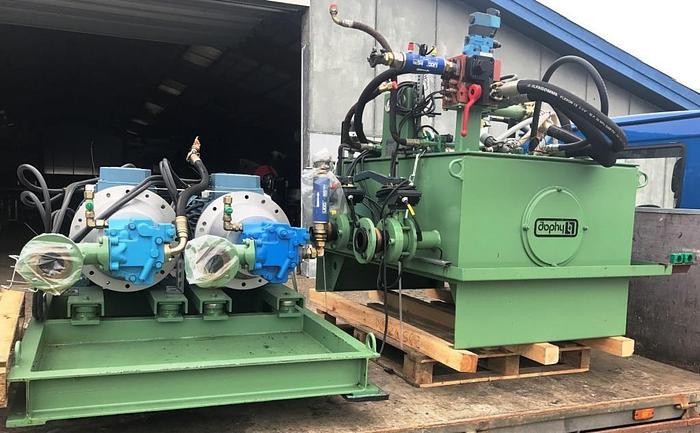 Used Hydraulic power unit with 2 ETON pumps