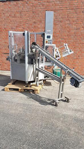 Gebraucht Vertikal-Kartonieranlage für Beutelprodukte