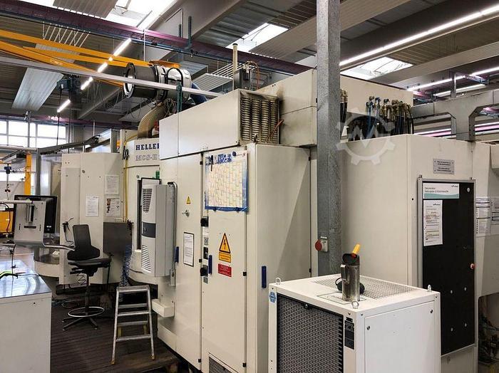 2000 CNC Bearbeitungszentrum Horizontal HELLER MCS H 250