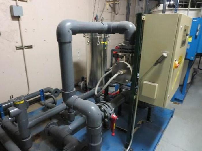 Water Treatment System with Aqua Sonics Ultra-Violet Unit