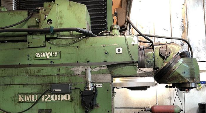 FRESATRICE A BANCO FISSO ZAYER KMU 12000 CNC