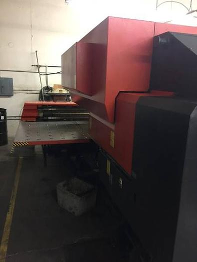 Used 33 Ton Amada Pega 345 Queen CNC Turret Punch